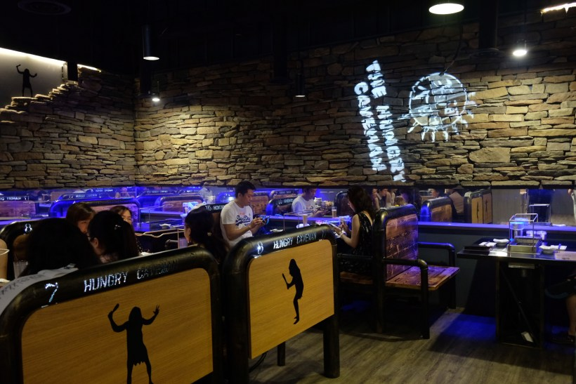 The Hungry Caveman At Orchard Central, Good Review For BBQ In Dianping Shanghai - Another Interior View