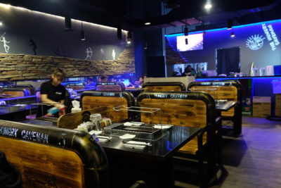 The Hungry Caveman At Orchard Central, Good Review For BBQ In Dianping Shanghai - Interior