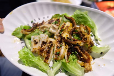 The Hungry Caveman At Orchard Central, Good Review For BBQ In Dianping Shanghai - Grilled Giant Cuttlefish ($12.80)
