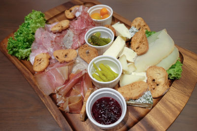 So France Bistro and Epicerie Dishing Hearty Authentic French Food - Assortiment de charcuterie / Assorted cold cuts ($28.50) and Assortiment de fromages /Assorted French cheese ($28.50)