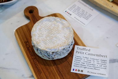 The Cheese Artisans At Greenwood Avenue Has More Than Cheeses - Truffles Petit Camembert