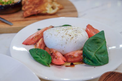 The Cheese Artisans At Greenwood Avenue Has More Than Cheeses - Burrata Salad ($15 for 125g / $24 for 250g)