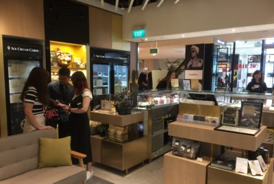 The Dark Gallery @ Takashimaya, A New Cafe And Chocolate Boutique - Another view of Interior