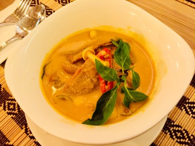 Re-discover the Diverse Flavours of South East Asia at River Wok - Gaeng Phed Ped Yang (S$22)