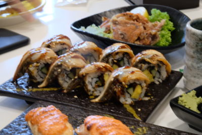 One Sushi Serving Sushi On Conveyor Belt At Yishun Town Square - Maki