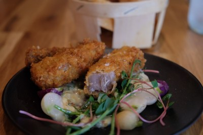 Restaurant Le Oui In Lille, In Michelin Guide - Deep-fried Battered Veal