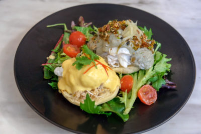 Saucy x The Coffee Academics Singapore Whipping Umami Up Brunch Set - Egg Benedicts