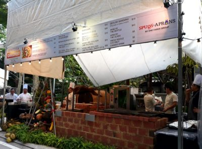 One Faber Group @ Sentosa Grillfest – A stall at Grillfest