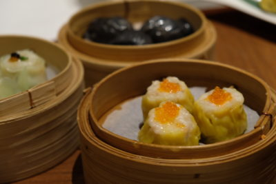Tien Court Offering 53% Discount For Dim Sum At Copthorne Kings - Steamed Pork & Prawn Dimpling with Caviar 鱼子蒸烧卖 ($6.30)