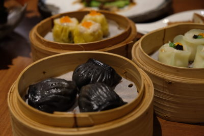 Tien Court Offering 53% Discount For Dim Sum At Copthorne Kings - Steamed Prawns Dumpling with Black Truffle 黑松露虾饺 ($8.30)