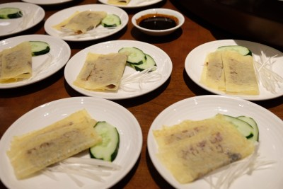 Tien Court Offering 53% Discount For Dim Sum At Copthorne Kings - Wraps of Peking Duck