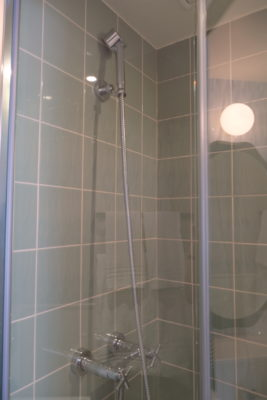 Hotel Bienvenue Paris In Opera Area With Subway Within Walking Distance - Shower area