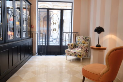 Hotel Bienvenue Paris In Opera Area With Subway Within Walking Distance - An area within the hotel