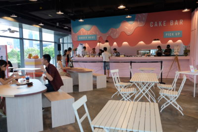 Cake Club By Marina Square Wrapping Up With Three Cakes By Eddie Stewart - Cake Club Interior