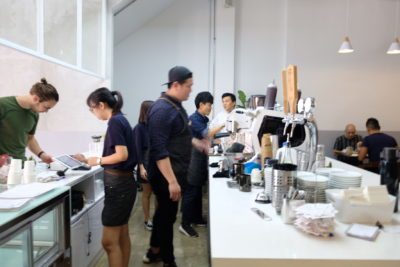 Five Oars Coffee Roasters, New Hipster Cafe Along Tanjong Pagar Road - Counter