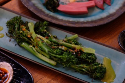 Jypsy By PS Cafe At Martin Road, Difficult To Get A Reservation - Robata Broccolini ($9)
