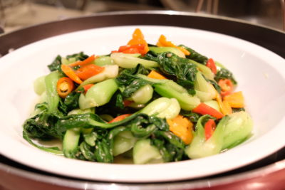 Go Local Buffet At Four Points Eatery In Four Points By Sheraton Singapore Riverview - Stir-fried Vegetables