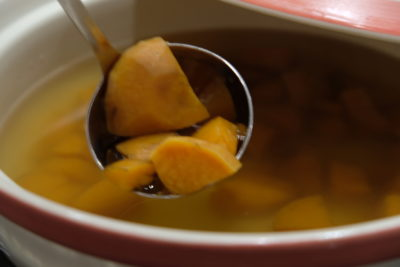 Go Local Buffet At Four Points Eatery In Four Points By Sheraton Singapore Riverview - Sweet Potato Soup