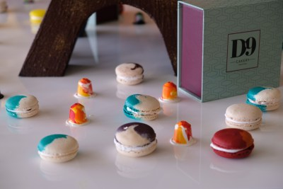 D9 Cakery Hilton Singapore Launching Paris & Tokyo Inspired Cake Collection - Macarons