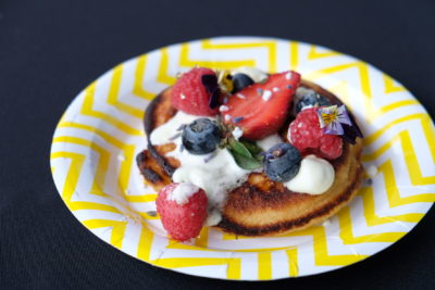Cake Club By Marina Square Wrapping Up With Three Cakes By Eddie Stewart - Ricotta and Berry Pancake ($12)