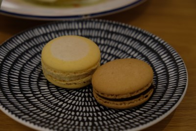 Grids & Circles, Cafe With Workshop In A Conservatory Shophouse Along South Bridge Road - Macaron ($3)