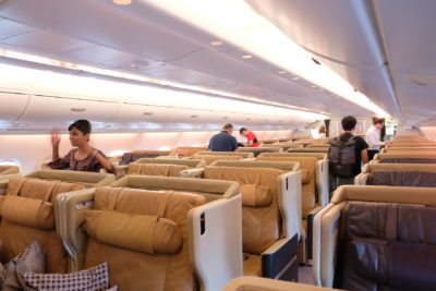 Singapore To Mumbai On SQ424 Business Class, Airbus A380-800 - Business Class