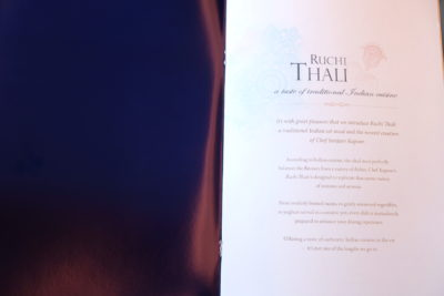 Singapore To Mumbai On SQ424 Business Class, Airbus A380-800 - Introduction Menu
