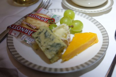 Singapore To Mumbai On SQ424 Business Class, Airbus A380-800 - Cheese