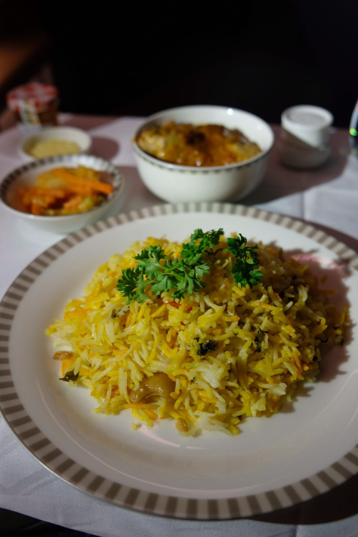 Singapore Airlines Business Class Book A Cook - Nasi Biryani