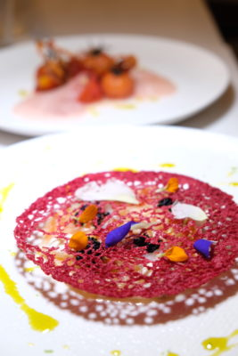 Butter At 35 North Canal Road Where Drinks and Dishes Meet - Carpaccio ($18)