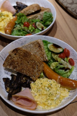 Nested Cafe Perched With Goodness At Fusionopolis - Feeling Hungry, Satisfy with The Usual Brekkie ($15.90)