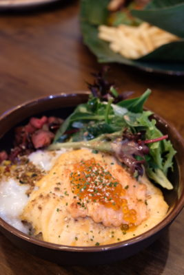 Ash & Char Rebranded To A Gastrobar With Revamped Interior - Mentaiko Salmon Aburi
