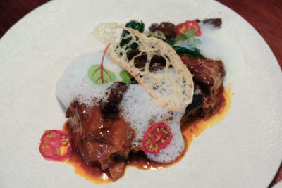 """Birds Of A Feather At Amoy Street, Modern Sze Chuan Food In Western-Style - """"Hong Shao"""" Short Ribs ($38)"""