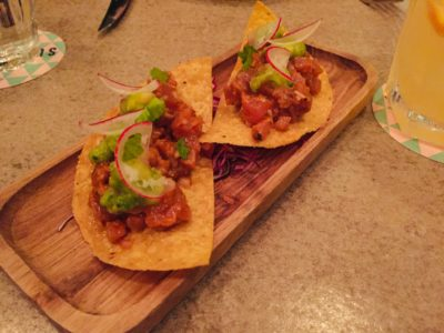 The Loco Group, A Mexican Food and Craft Beer Paradise - Tostada de Atun ($15)