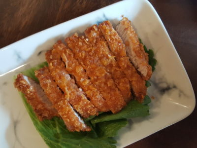 Mister Wu, Delicious and Value-for-money Lunch Set - Crispy Hakka Pork Cutlet