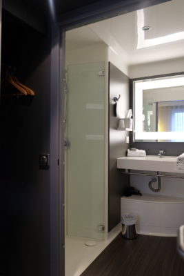 Hotel Novotel Suites Gare Lille Europe Atrocious Service Ever – A peek to the bathroom