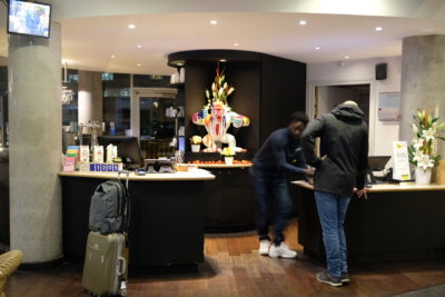 Hotel Novotel Suites Gare Lille Europe Atrocious Service Ever – Check-in and Out counter