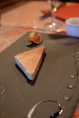 Chez Yvonne Strasbourg, A Long Established With Michelin Plate Award - Foie gras d'oie maison (half portion - €14.60)
