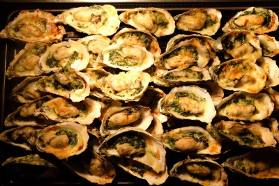 Celebrating 2018 Christmas With Singapore Marriott Tang Plaza Hotel - Oyster Florentine