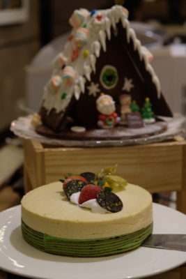 Festive Moments At Ginger, PARKROYAL Beach Road, Christmas 2018 - Durian Cake