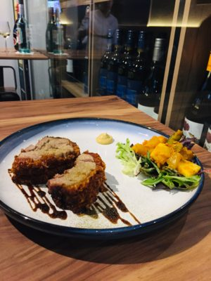Wine & Gourmet Friends, Exclusive Wines Boutique And Restaurant - Roast Pork Belly ($24)