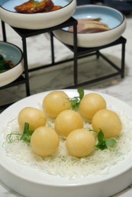 Crystal Jade Jiang Nan Reopens At VivoCity Showcasing Jiang Nan And Sichuan Specialties - Cheesy Crsip Mochi Ball ($10.80 / 6pcs)