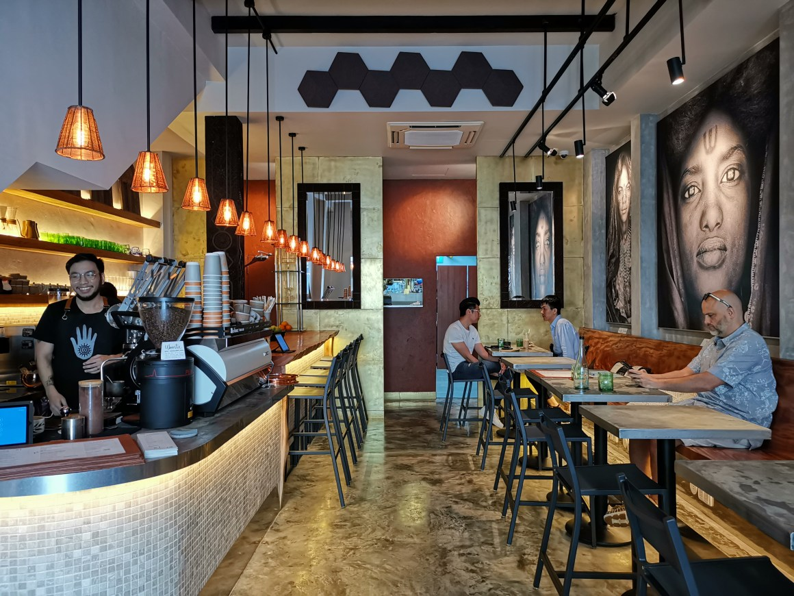 Kafe Utu, First Afro Cafe & Lounge In Singapore - Kafe Utu Interior