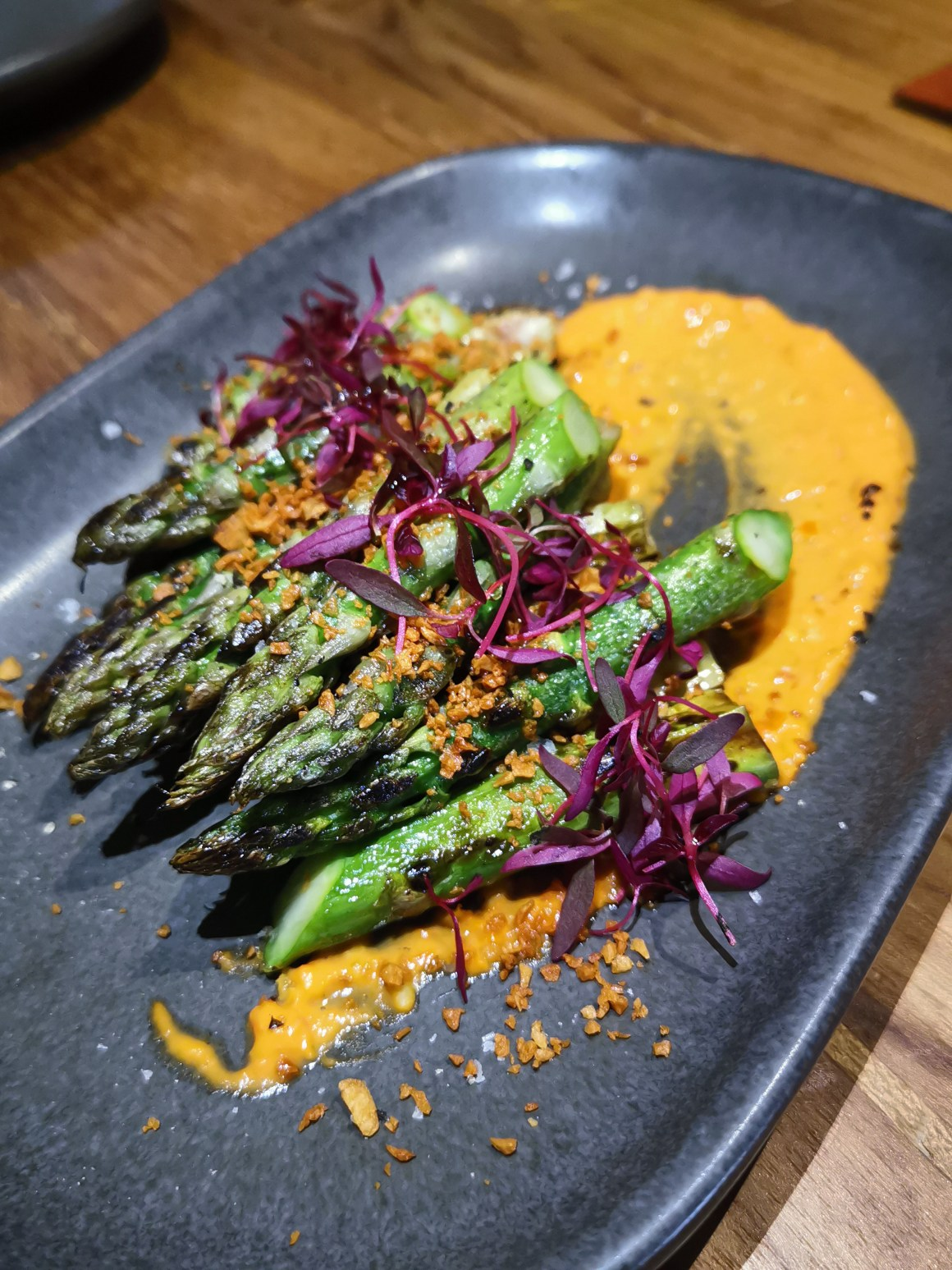 Kafe Utu, First Afro Cafe & Lounge In Singapore - Charred Asparagus ($16)