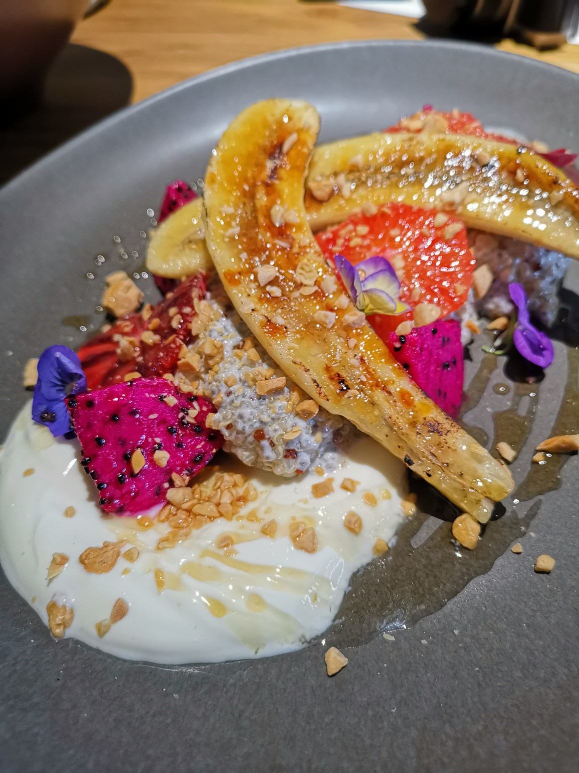 Kafe Utu, First Afro Cafe & Lounge In Singapore - Quinoa Chia Seed Pudding  ($18)