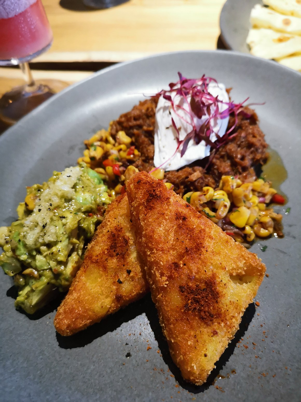 Kafe Utu, First Afro Cafe & Lounge In Singapore - Pulled Pork Breakfast ($24)
