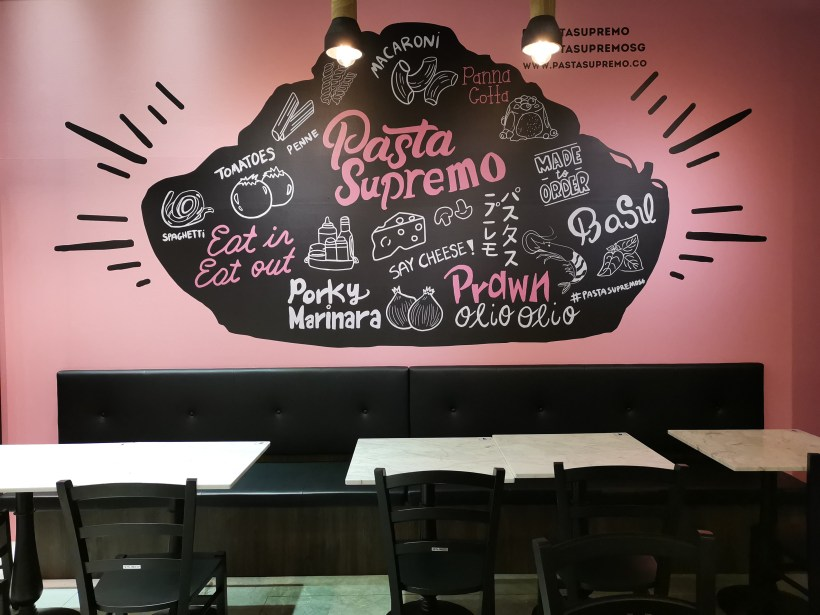Pasta Supremo By Folks Behind Salted Plum At Suntec City - Interior