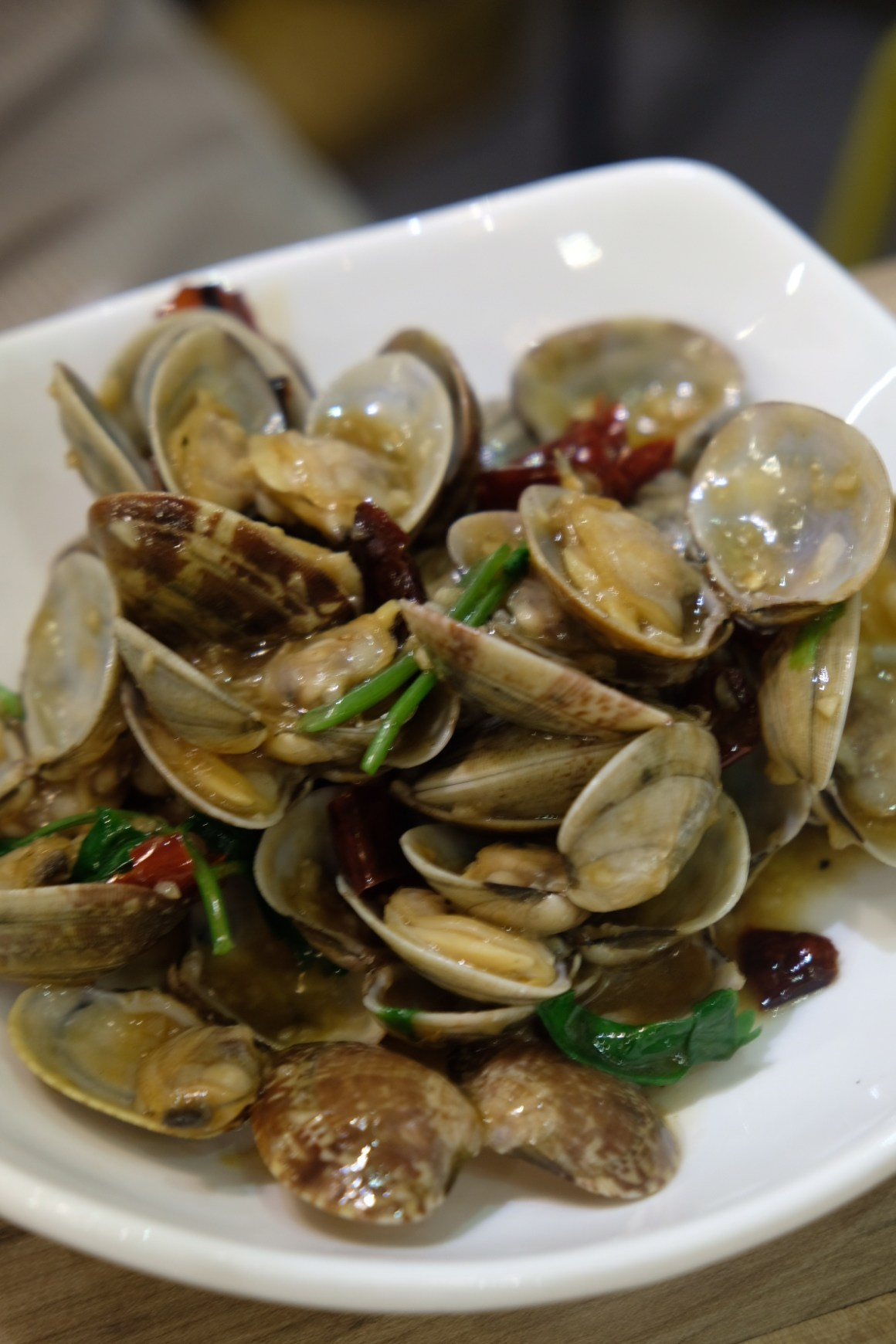 Fat Bird @ Serangoon Gardens, Second Outlet - Spicy Fragrant Stir-fried Clams