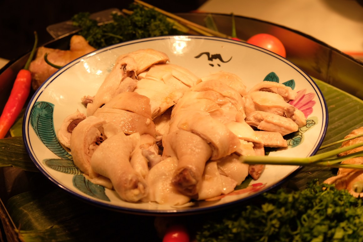 Heritage Flavours and Premium Madness Buffet At Ginger, PARKROYAL On Beach Road - Steamed Chicken