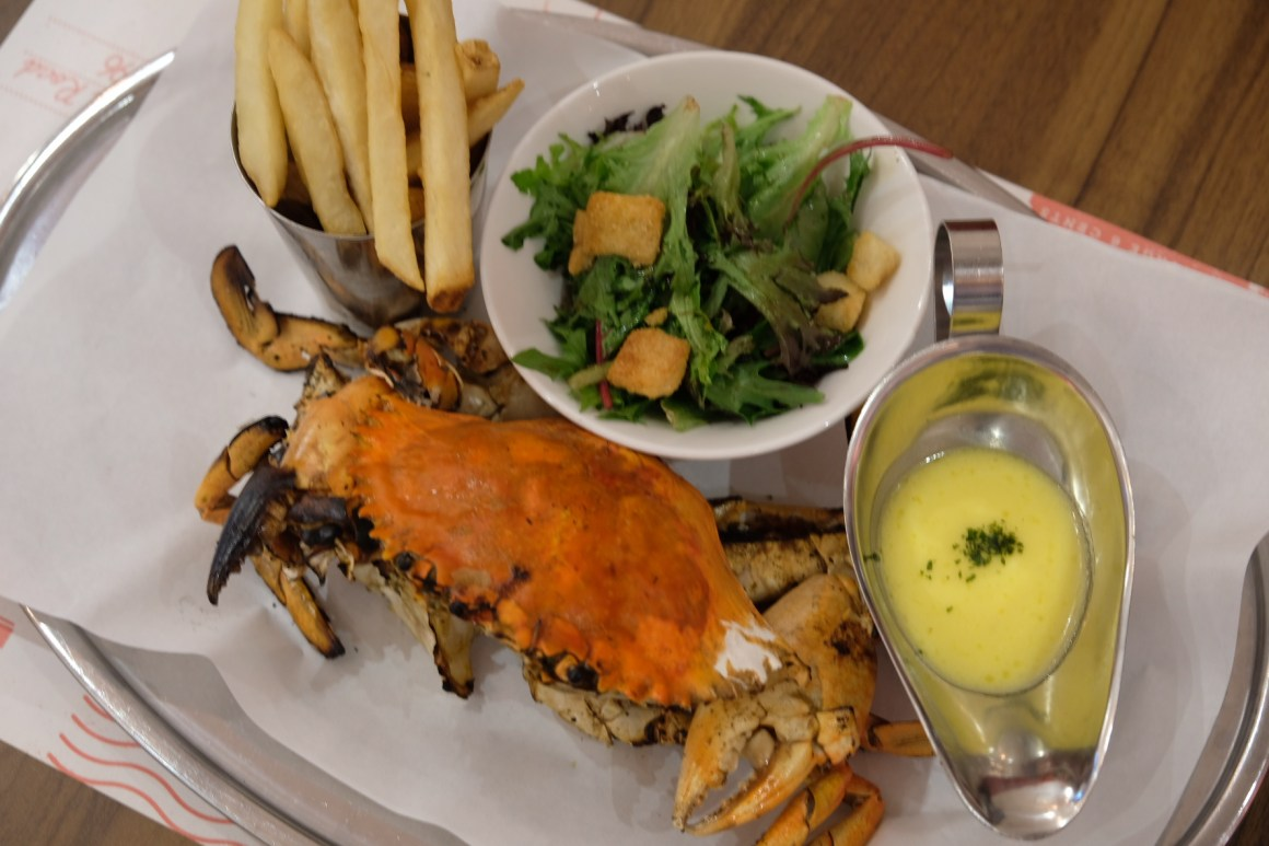 Brand New Crab Menu By Pince & Pints - Whole Grilled Crab
